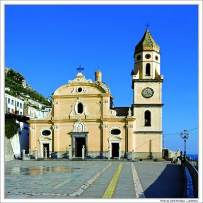 Salerno, Church of San Gennaro in Praiano