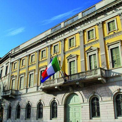 Bergamo, town Hall