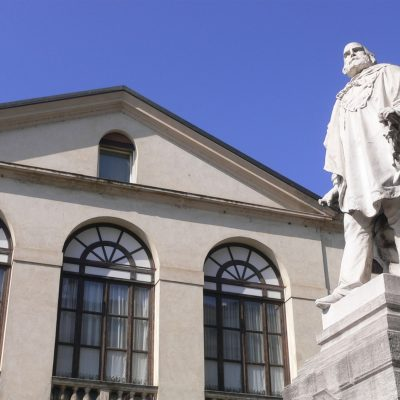 Vicenza, Monument to Garibaldi